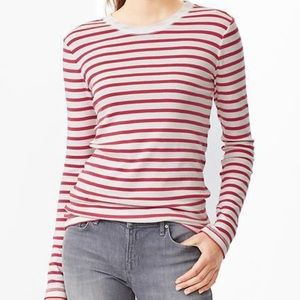 GAP Supersoft Long Sleeve Tee Striped